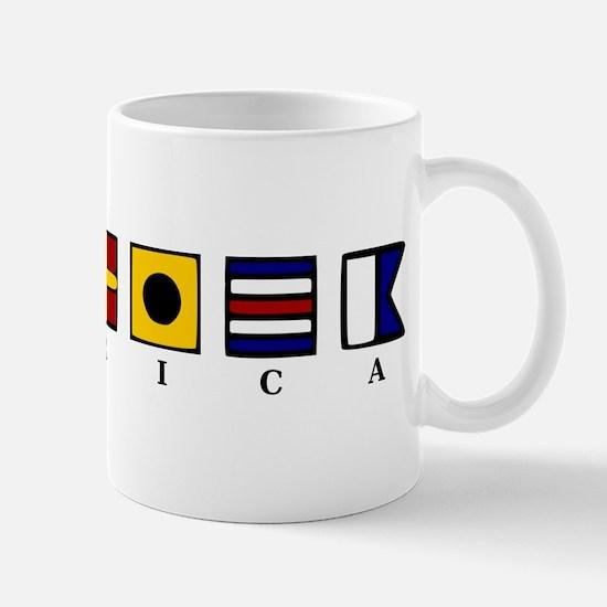Nautical America Mug