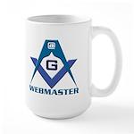 Gift for the Masonic webmaster Large Mug