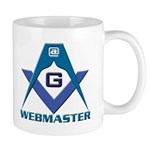 Gift for the Masonic webmaster Mug