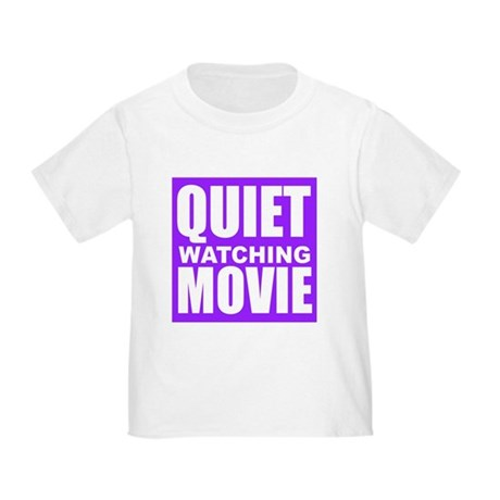Quiet Watching Movie T-Shirt