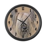 Briard Large Wall Clock