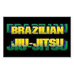 Jiu Jitsu Sticker (Rectangle 10 pk)