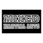 Mixed Martial Arts Sticker (Rectangle)