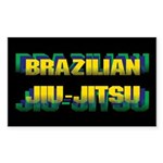 Jiu Jitsu Sticker (Rectangle)