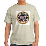 Iraq War Memorial Ash Grey T-Shirt