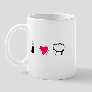 Eye Love Ewe Mug