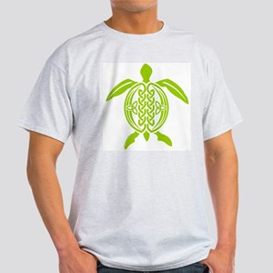 Kiwi Celtic Turtle Ash Grey T-Shirt
