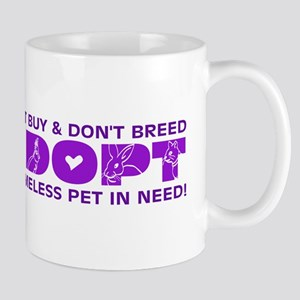 Purple Adopt Mug