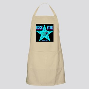 Rock Star Dream Big! Skyblue BBQ Apron