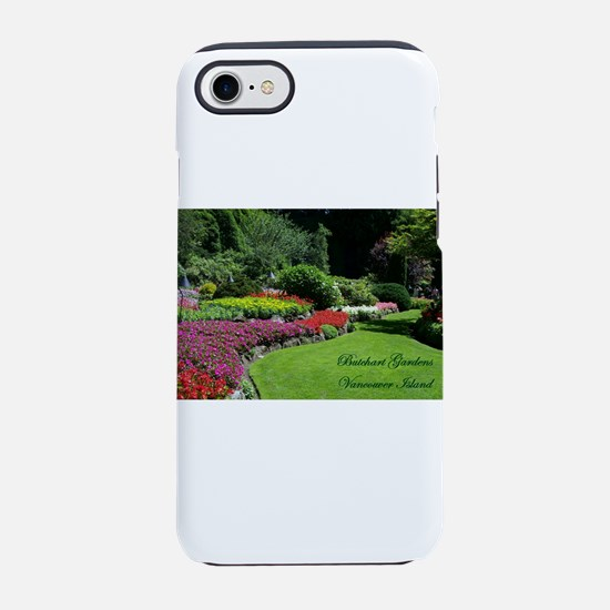 Flowers 3 BG, VI iPhone 7 Tough Case