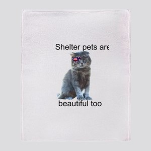 Shelter Pets Throw Blanket