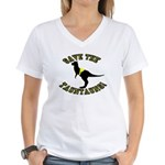 Save The Tauntauns! Women's V-Neck T-Shirt