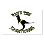 Save The Tauntauns! Sticker (Rectangle)