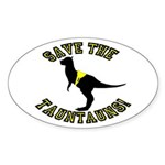 Save The Tauntauns! Sticker (Oval)