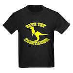 Save The Tauntauns! Kids Dark T-Shirt