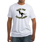 Save The Tauntauns! Fitted T-Shirt