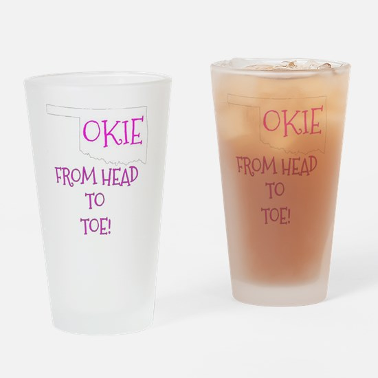 Funny Okie Drinking Glass