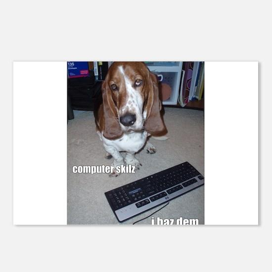 Computer Skilz Postcards (Package of 8)