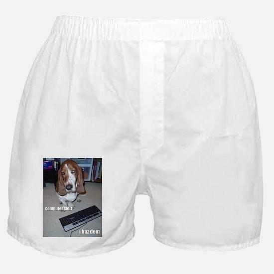 Computer Skilz Boxer Shorts