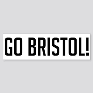 Go Bristol! Bumper Sticker
