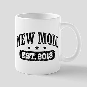 New Mom Est. 2018 11 oz Ceramic Mug