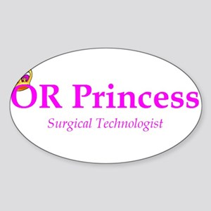 OR Princess ST Rectangle Sticker
