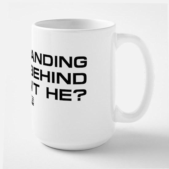 NCIS: Right Behind Large Mug