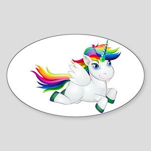 Cute_Rainbow_Pony__Clip_Art_Image Sticker