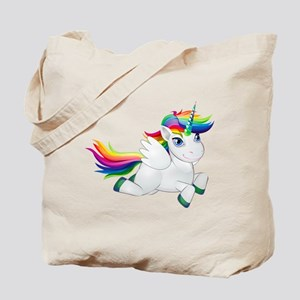 Cute_Rainbow_Pony_PNG_Clip_Art_Image Tote Bag