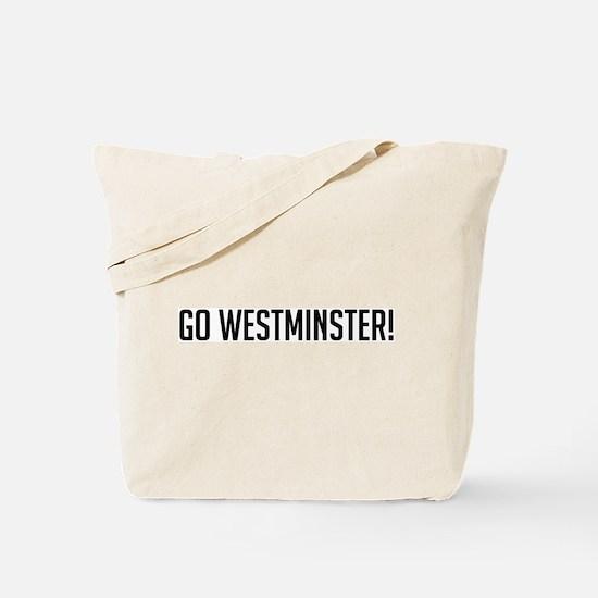 Go Westminster! Tote Bag