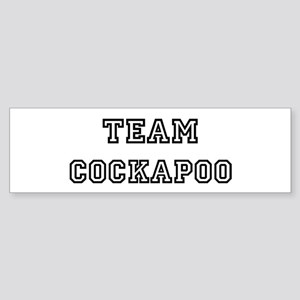 Team Cockapoo Bumper Sticker