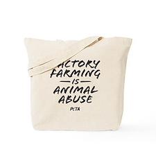 Factory Farming Tote Bag