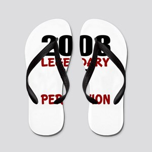 2008 Legendary Aged To Perfection Flip Flops