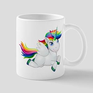 Cute_Rainbow_Pony__Clip_Art_Image Mugs