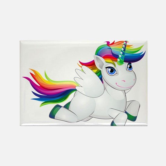 Cute_Rainbow_Pony_PNG_Clip_Art_Image Magnets