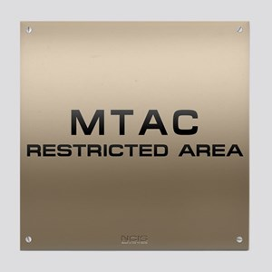 NCIS: MTAC Tile Coaster
