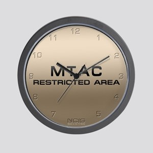 NCIS: MTAC Wall Clock