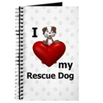 I Love My Rescue Dog Journal