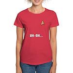 Star Trek Women's Red Shirt: Uh-Oh!