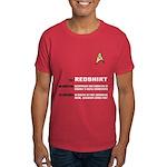 Star Trek 'Job Description' Men's Red Shirt