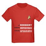Star Trek 'Job Description' Kids Red Shirt