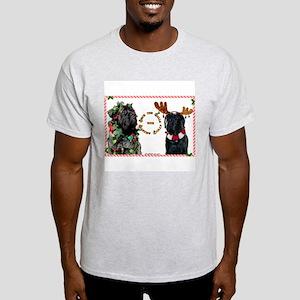 Mastiff XMas 46 Ash Grey T-Shirt