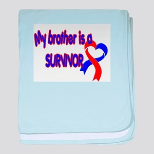 Brother CHD Survivor baby blanket