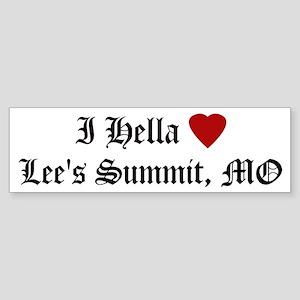 Hella Love Lee's Summit Bumper Sticker