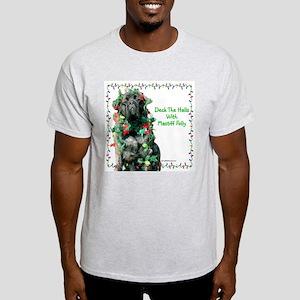 Mastiff XMas 27 Ash Grey T-Shirt