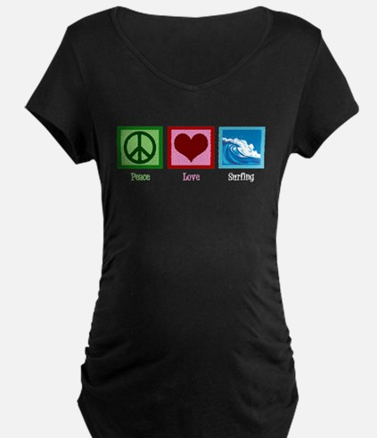 Peace Love Surfing T-Shirt
