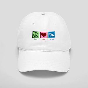 Peace Love Surfing Cap