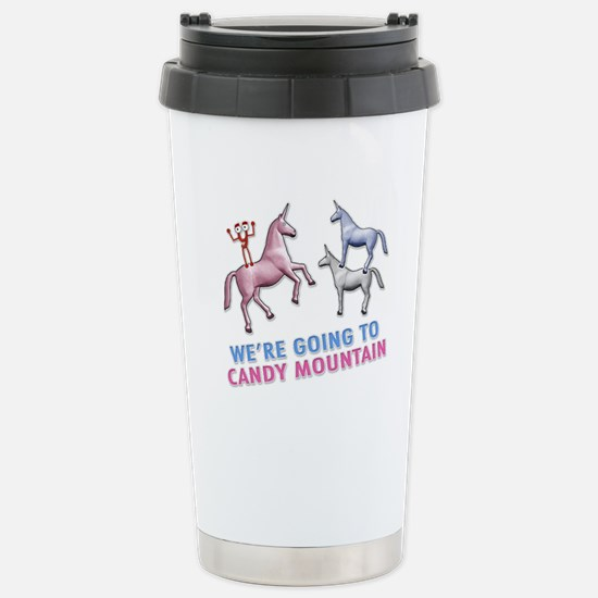 Candy Mountain Stainless Steel Travel Mug