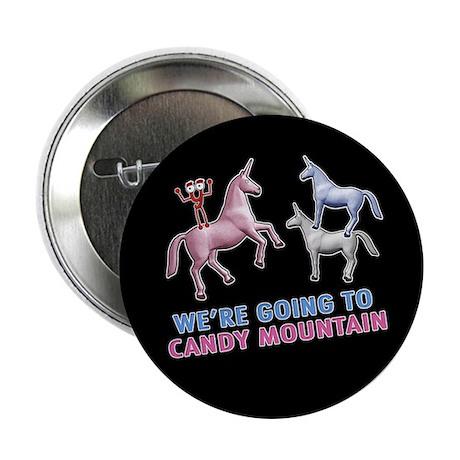 """Candy Mountain 2.25"""" Button"""