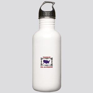 all fifty in blue Stainless Water Bottle 1.0L